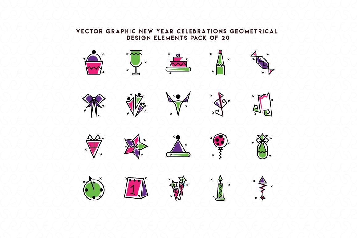 Christmas & New Year Bundle of Ornamental Mockups & Graphics example image 12