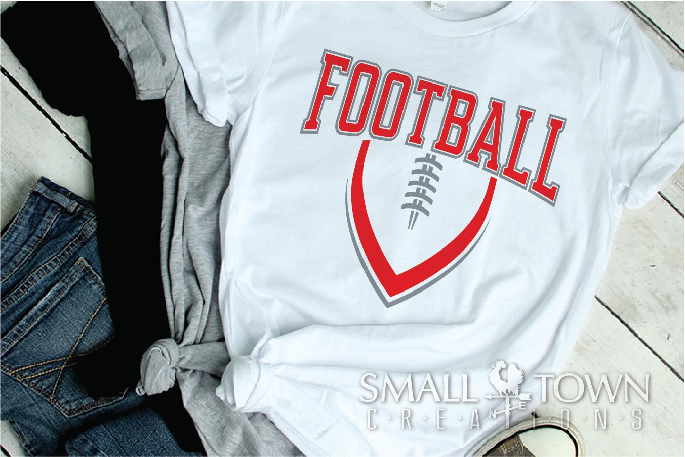 Football, Ball, Team, Sports, Logo, PRINT, CUT & DESIGN example image 2