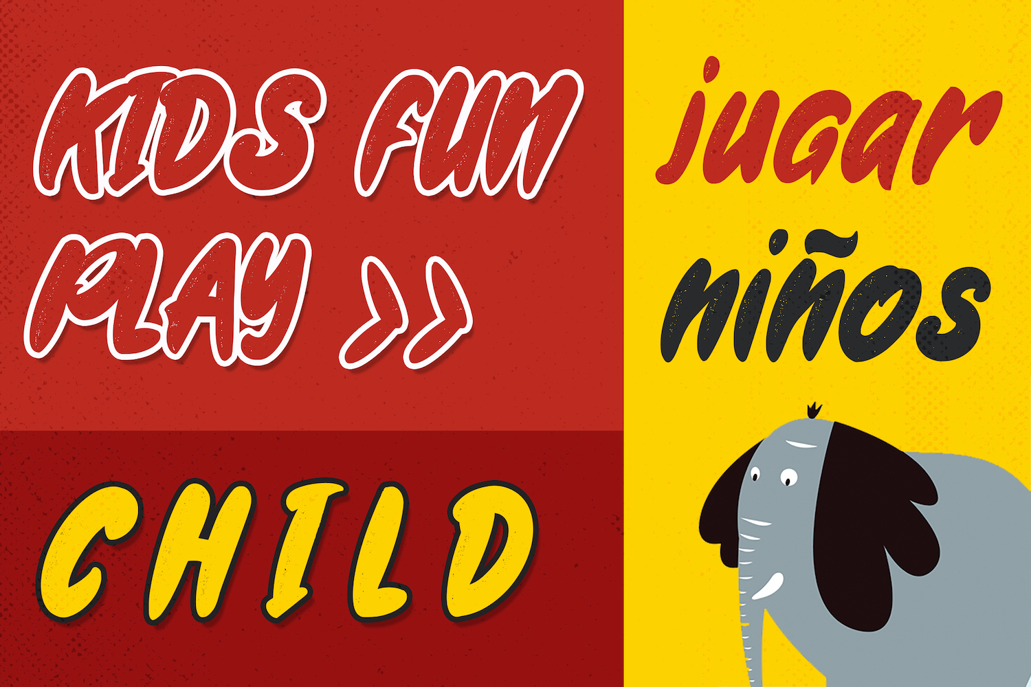 Gweneth - Playful Children Typeface example image 12