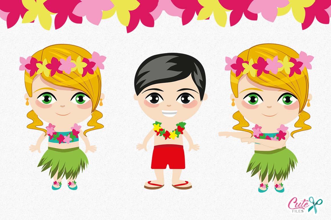 Tropical party, Summer Clipart, Luau clipart, Aloha ...
