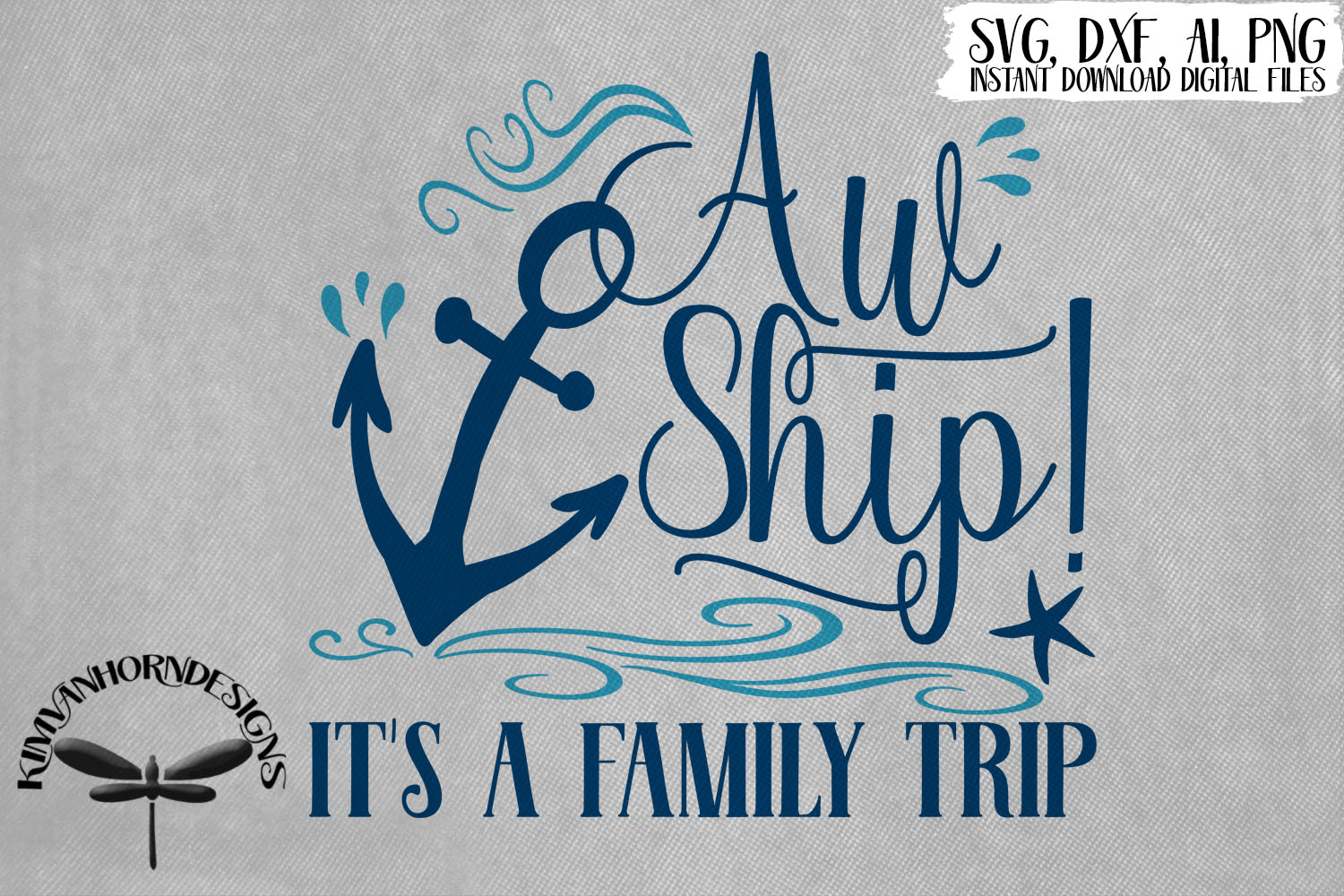 Aw Ship! It's A Family Trip example image 1