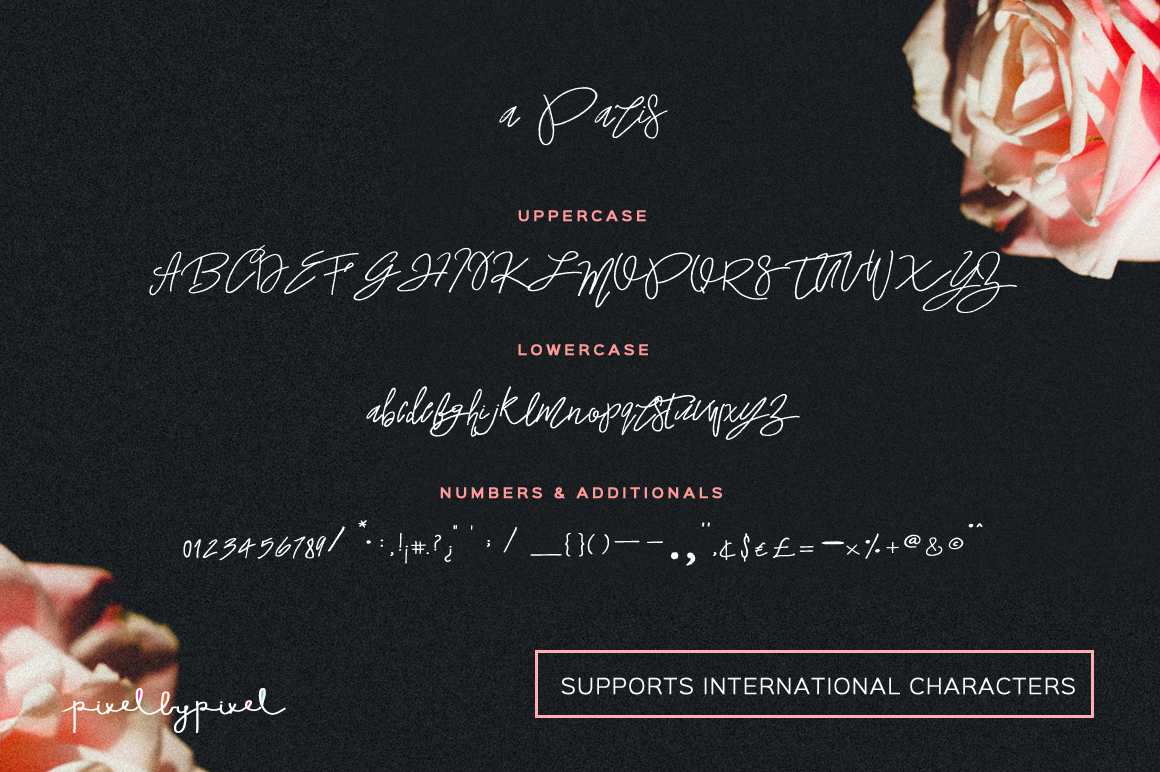A Paris Handwritten Font example image 6