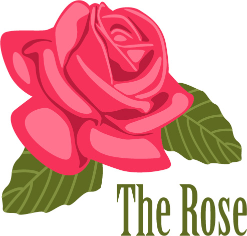 Rose svg - Rose svg files - Rose clipart - Rose digital- files download svg, png, eps, jpg  example image 10