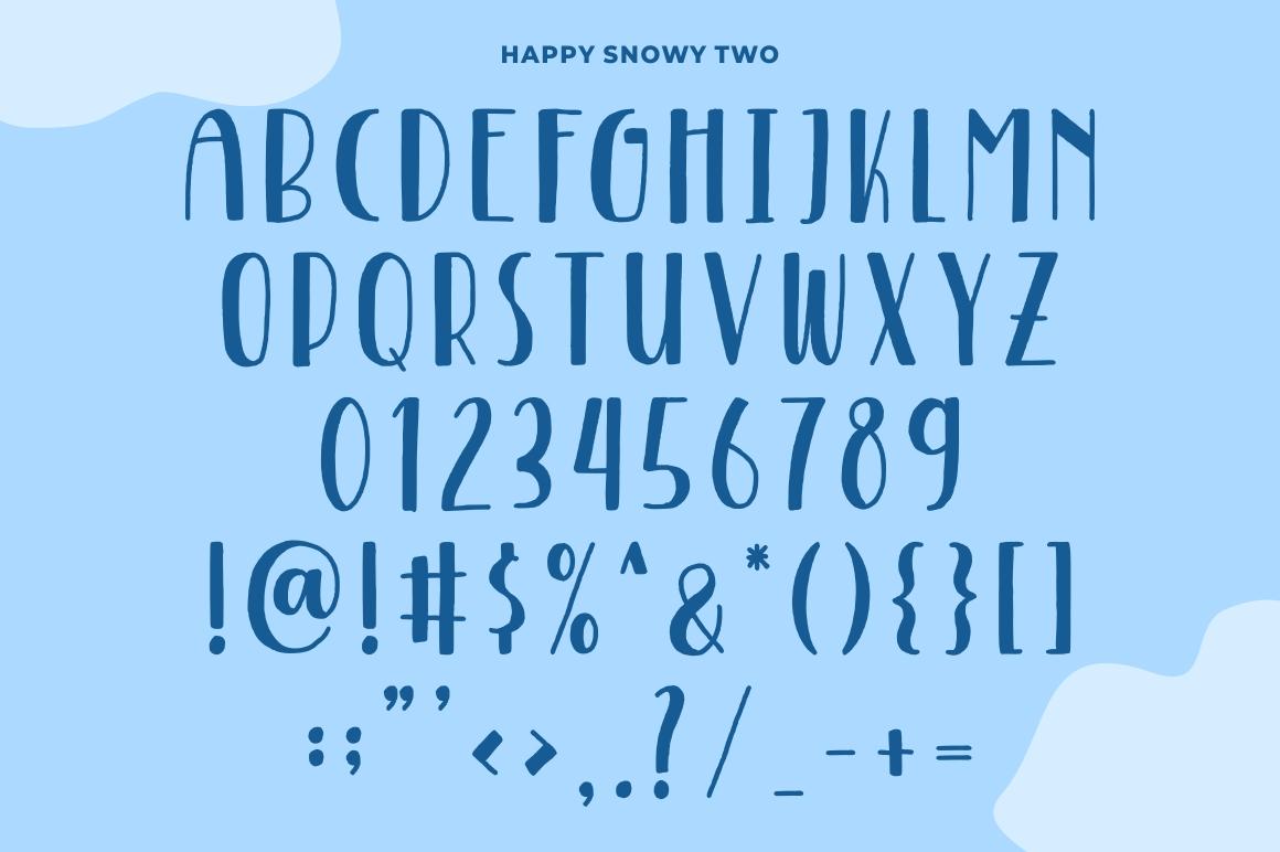 Happy Snowy example image 4