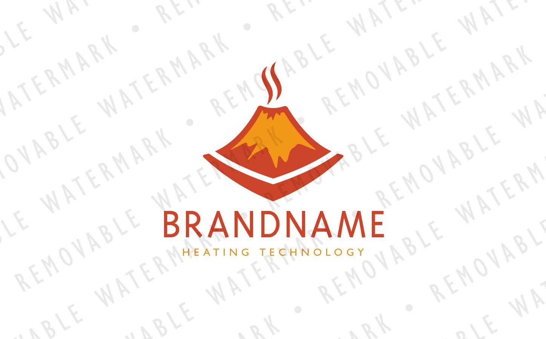 Smoldering Volcano Logo example image 2