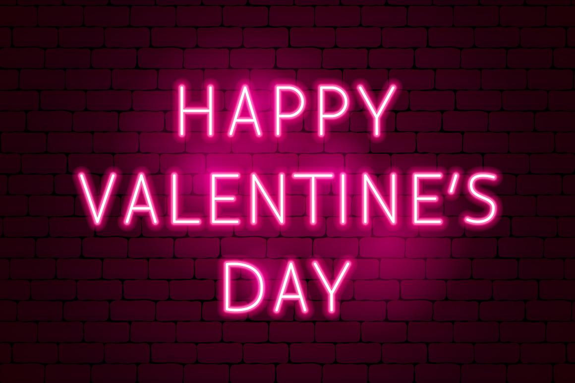 Valentine's Day Neon example image 9