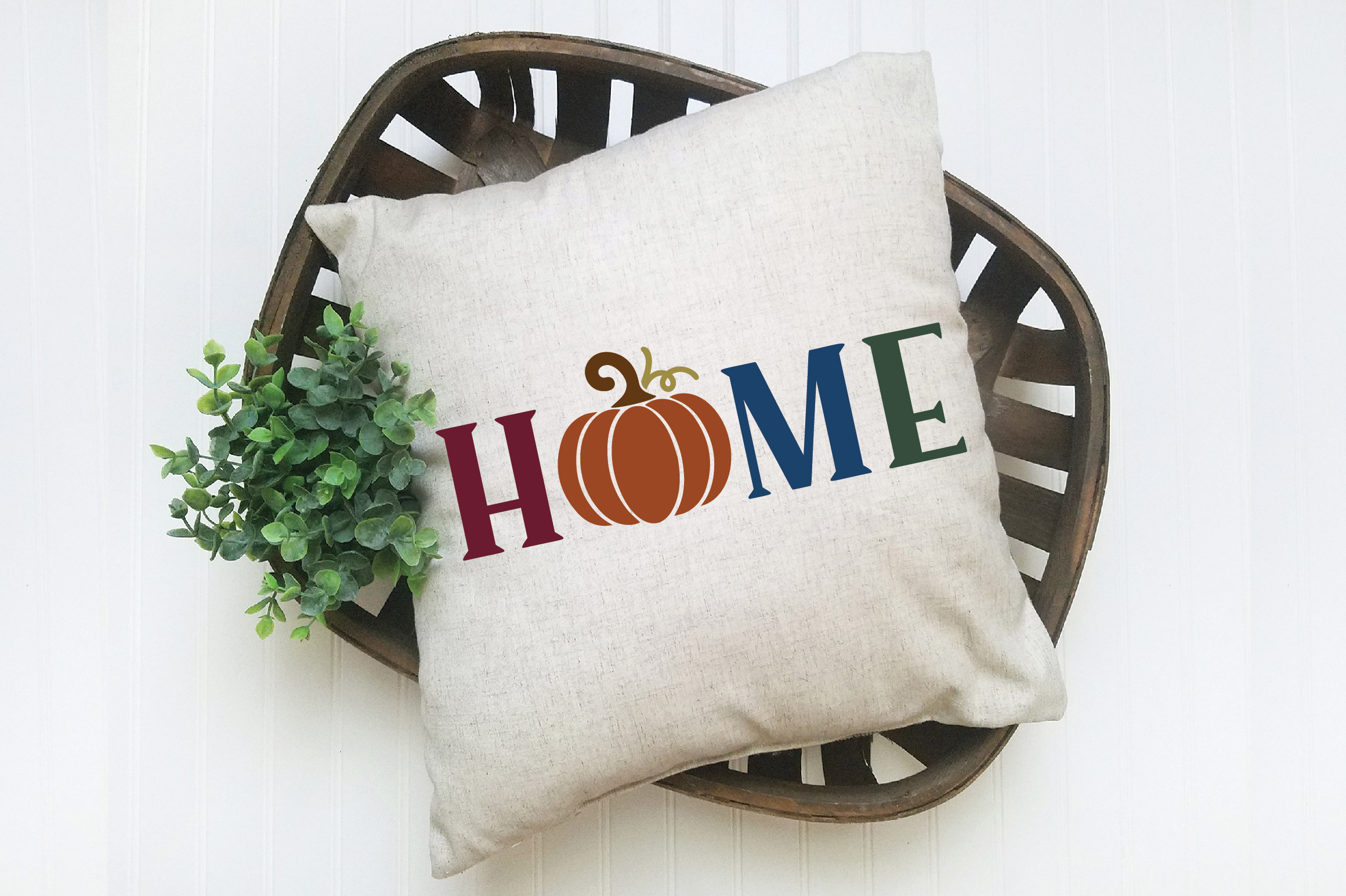 Home SVG Cut File - Fall Pumpkin SVG example image 3