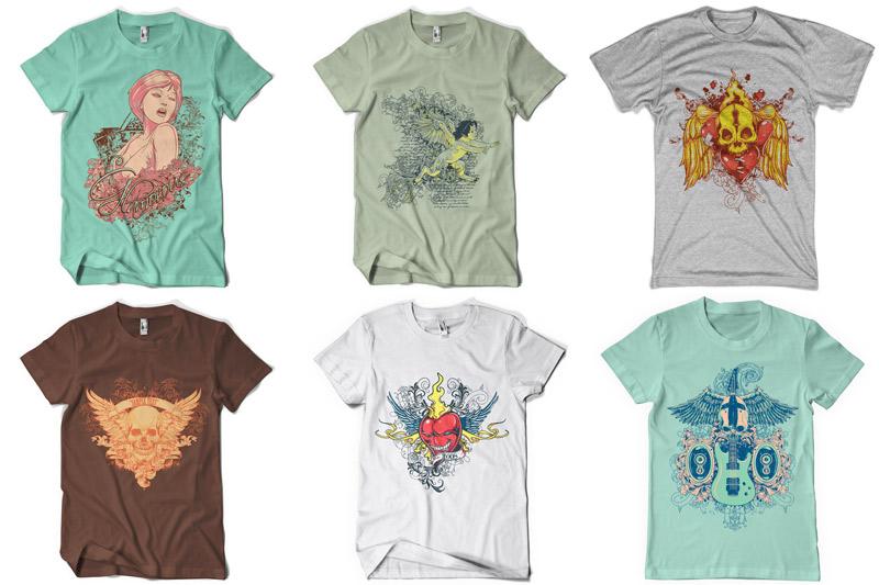 100 T-shirt Designs Vol 2 example image 7