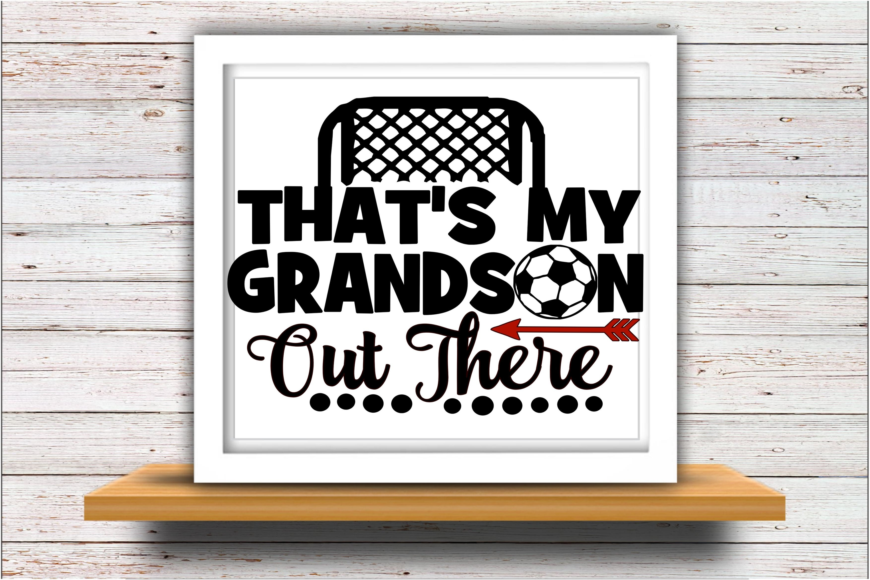 Soccer SVG DXF JPEG Silhouette Cameo Cricut Grandson field example image 2