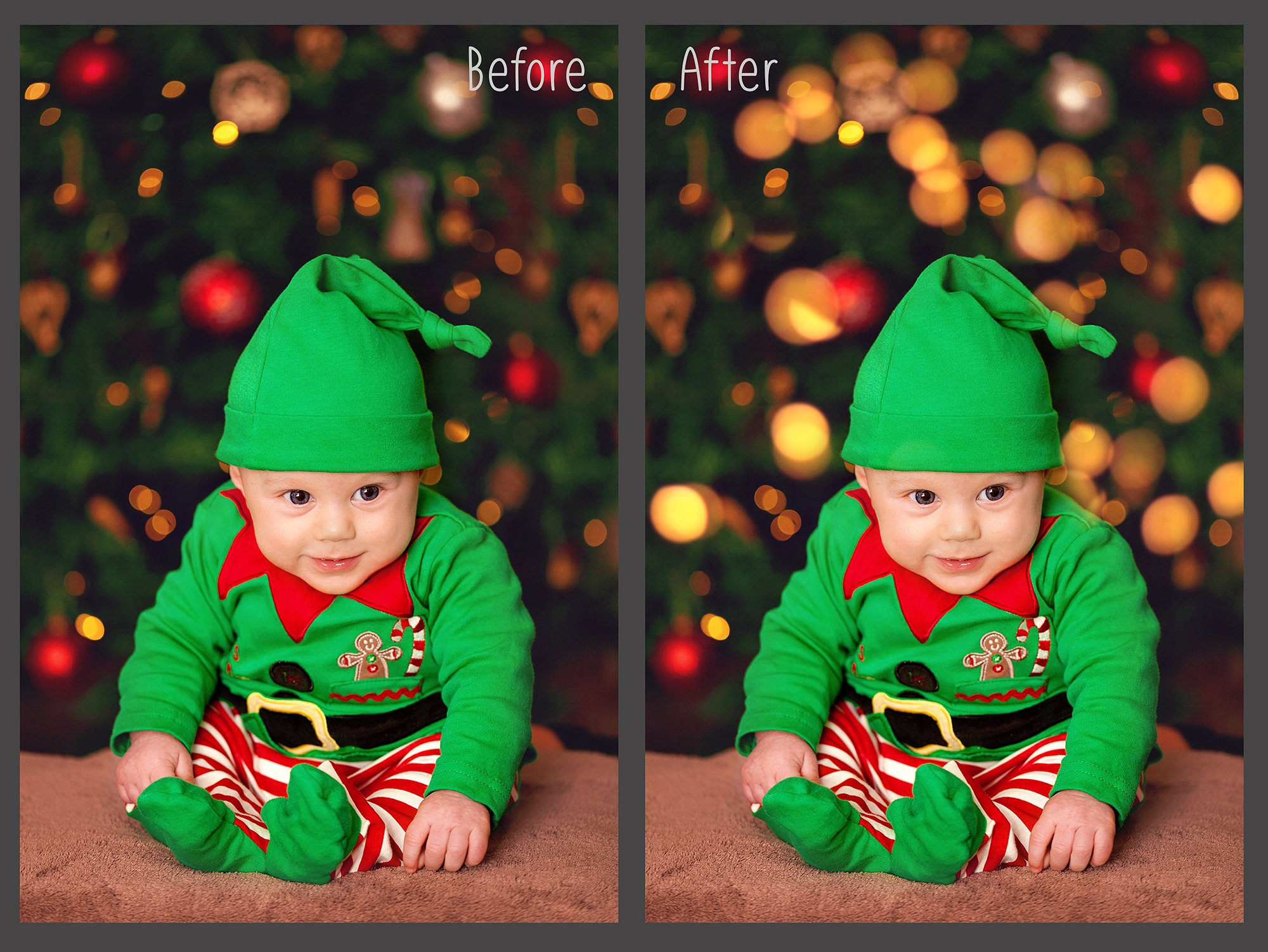 100 Golden Lights Photo Overlays example image 4