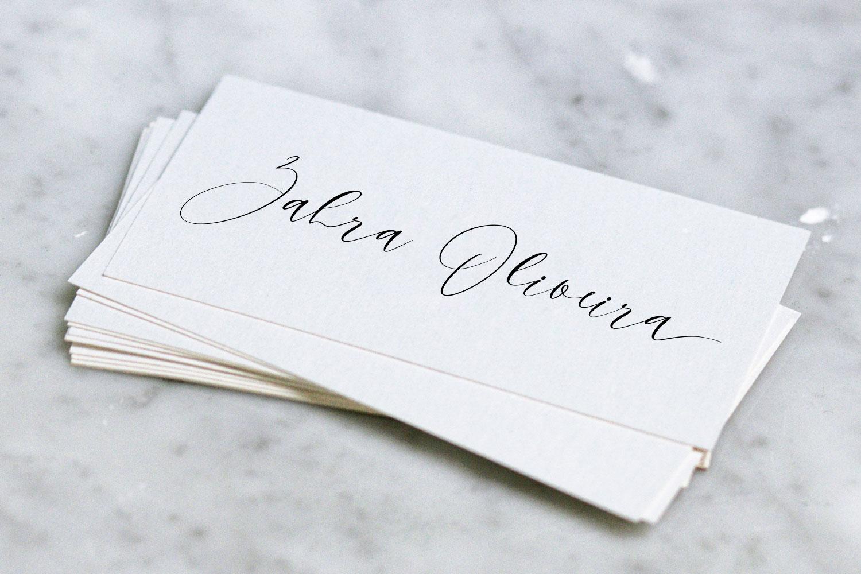 Sky Opera. A Handwritten Script Font example image 6