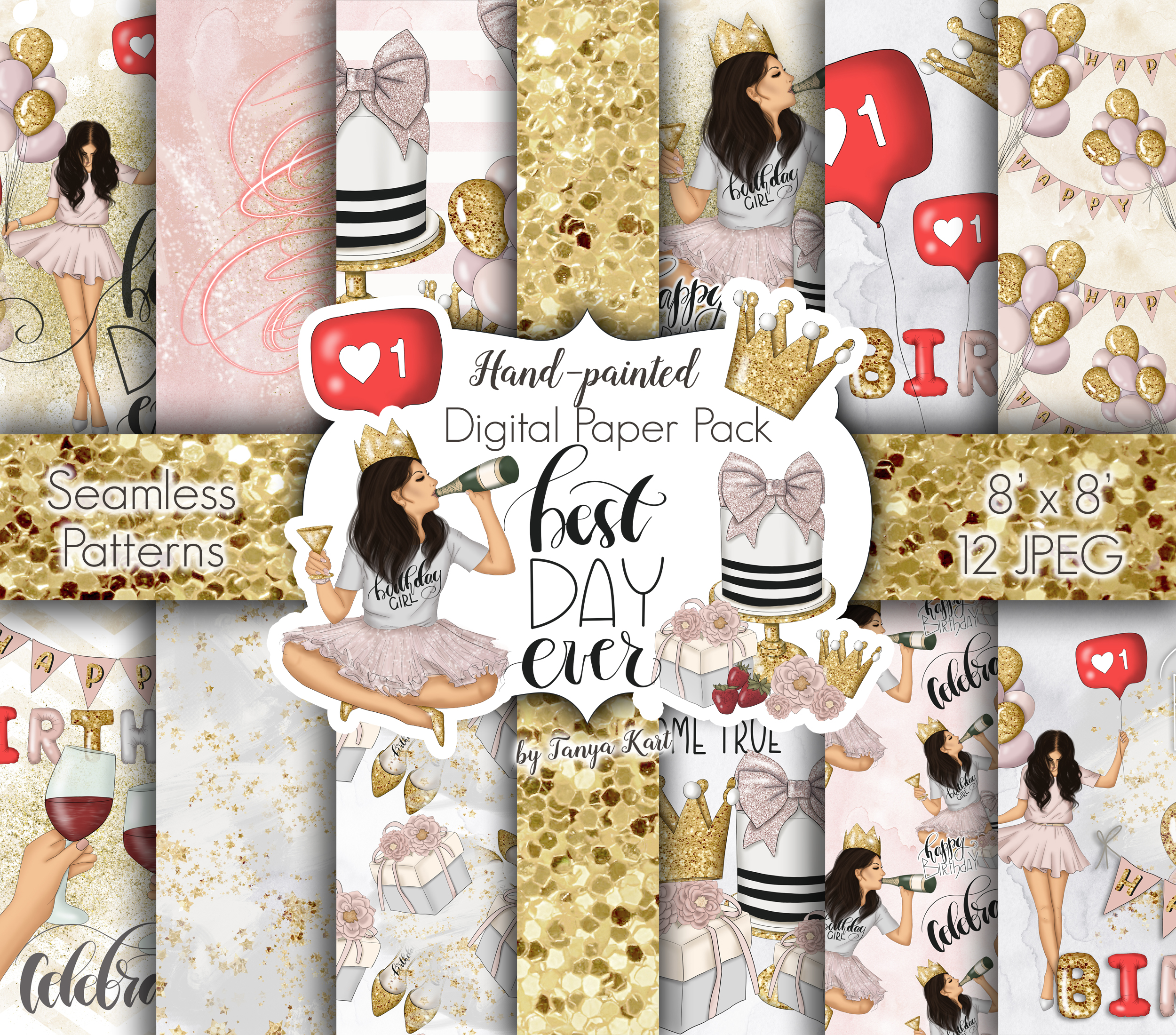 Best Day Ever Clipart Graphic Design example image 7
