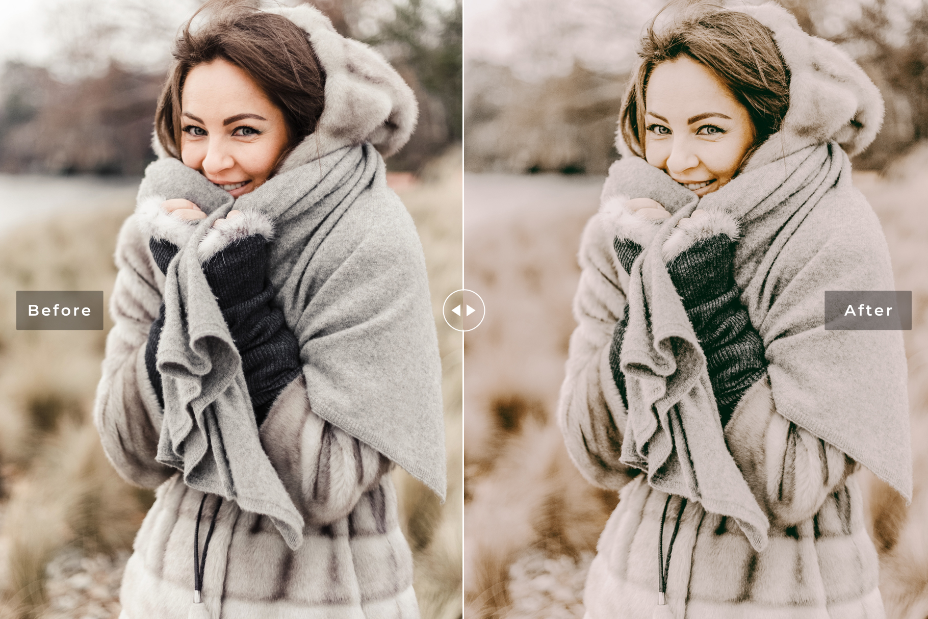 Warm & Airy Mobile and Desktop Lightroom Presets Collections example image 3