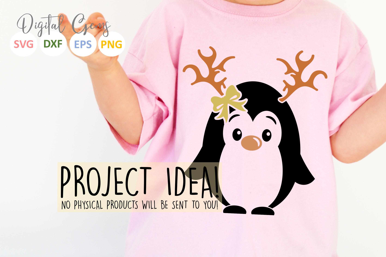 Penguin Reindeer, Christmas designs example image 3