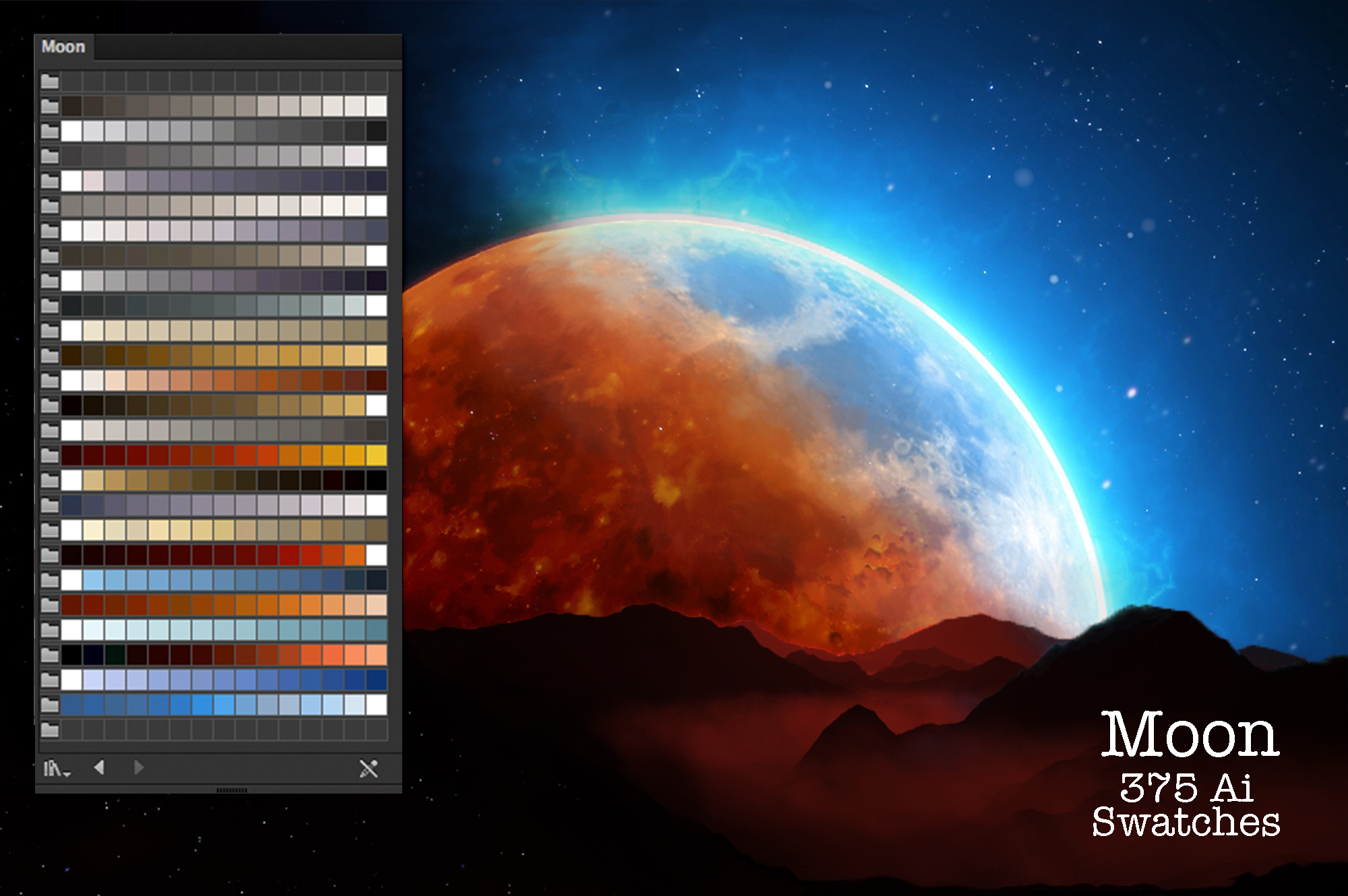Moon Swatches example image 3