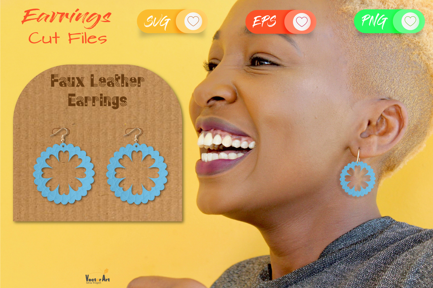 5 Earrings - Mini Bundle - Cut files example image 11