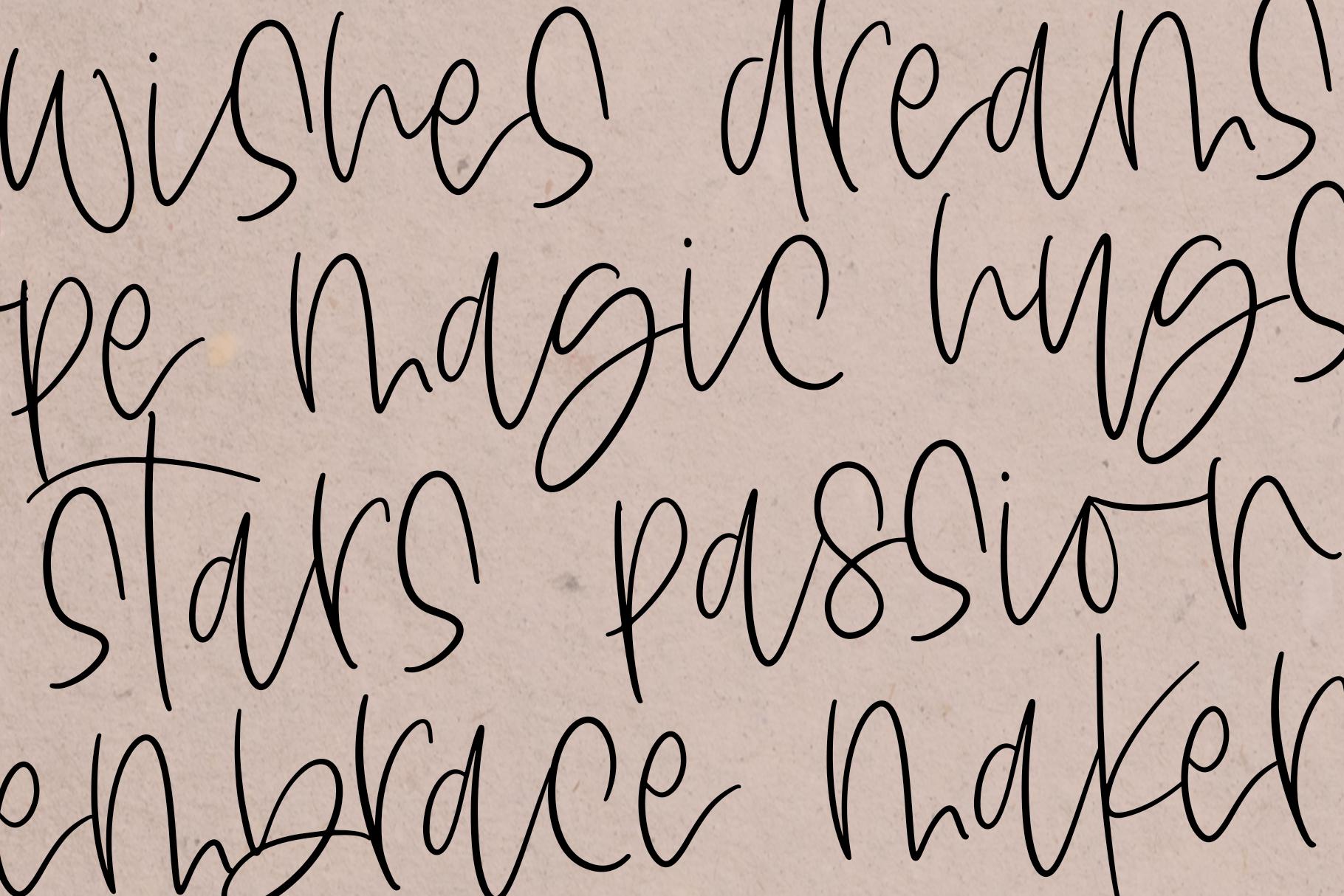 The Messa - A Handwritten Script Font example image 10