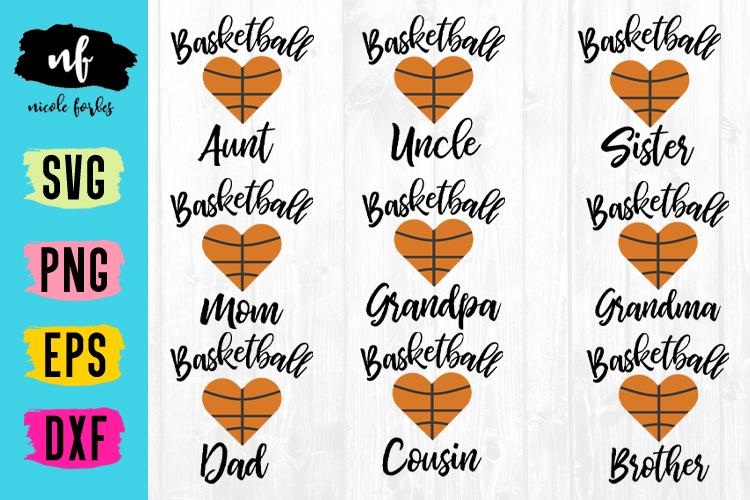 Basketball Family SVG Bundle example image 1