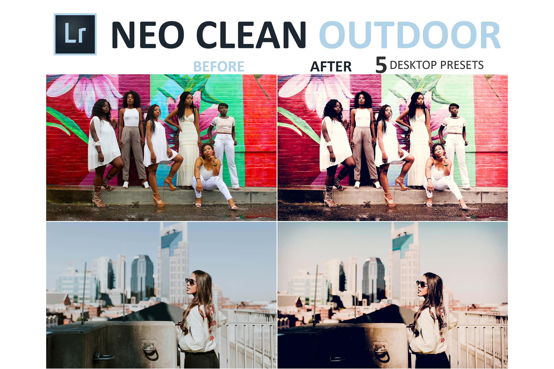 Neo Clean Outdoor Desktop Lightroom Presets example image 10