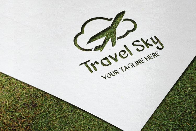 Cloud Shape Logo example image 2