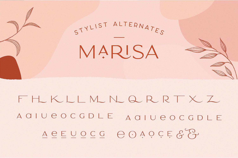 Classy Marisa - Elegant Fashion Stylish Typeface example image 23