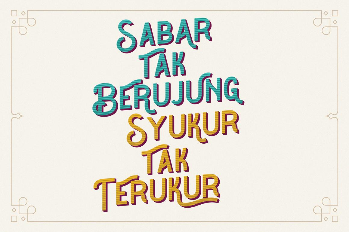 The Barra |7 Font Family + Bonus example image 8