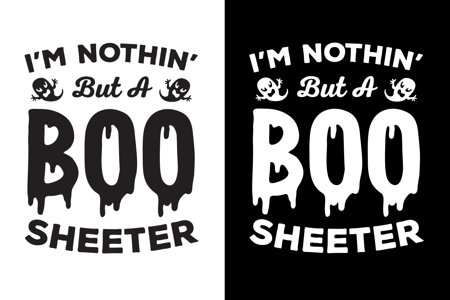 Halloween SVG, Boo Sheeter, SVG Cut file example image 5