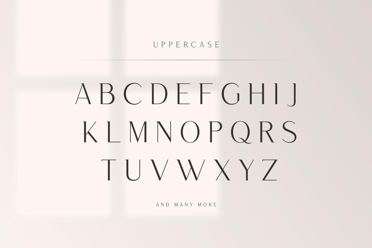 Saudagar Display Font & 7 Bonus Logo example image 12