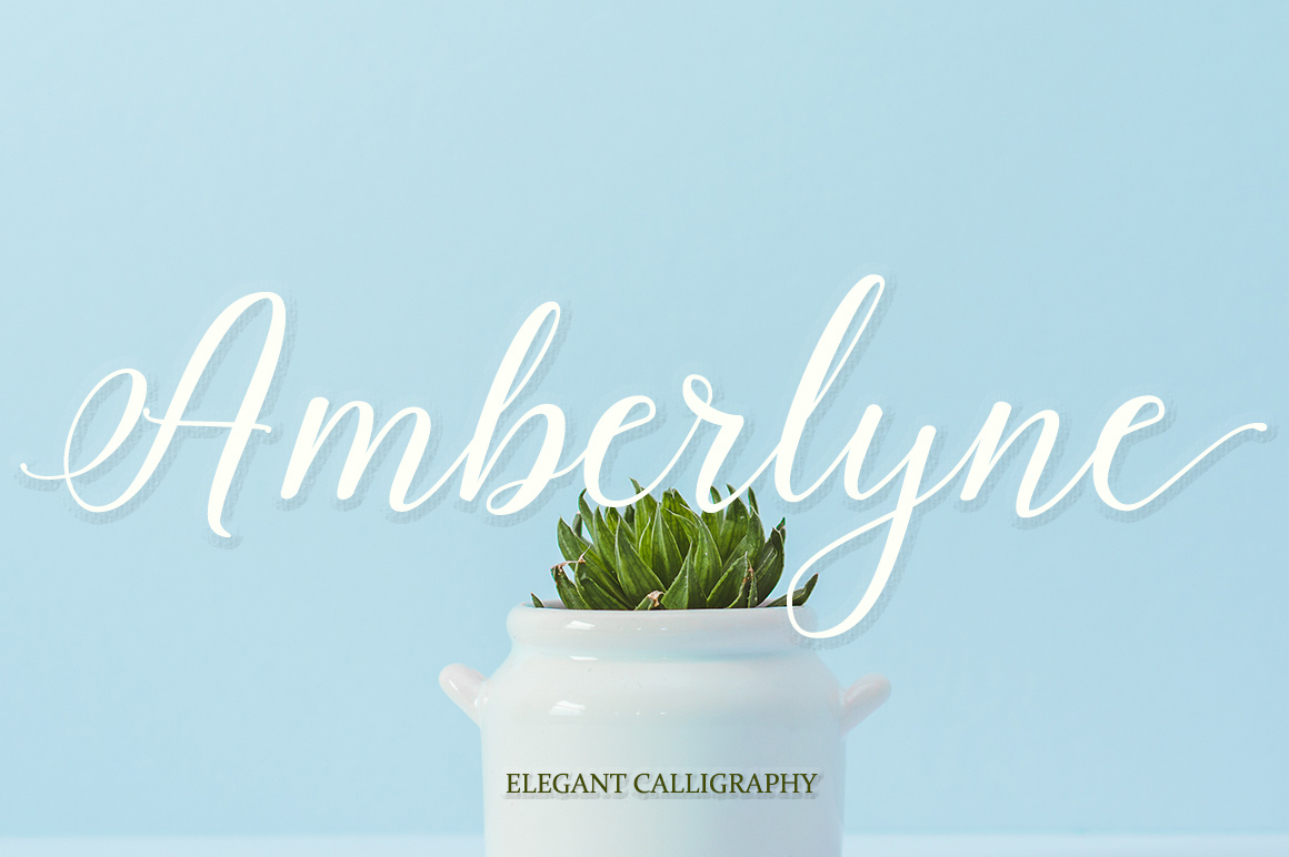 Amberlyne Script (25% Off) example image 1