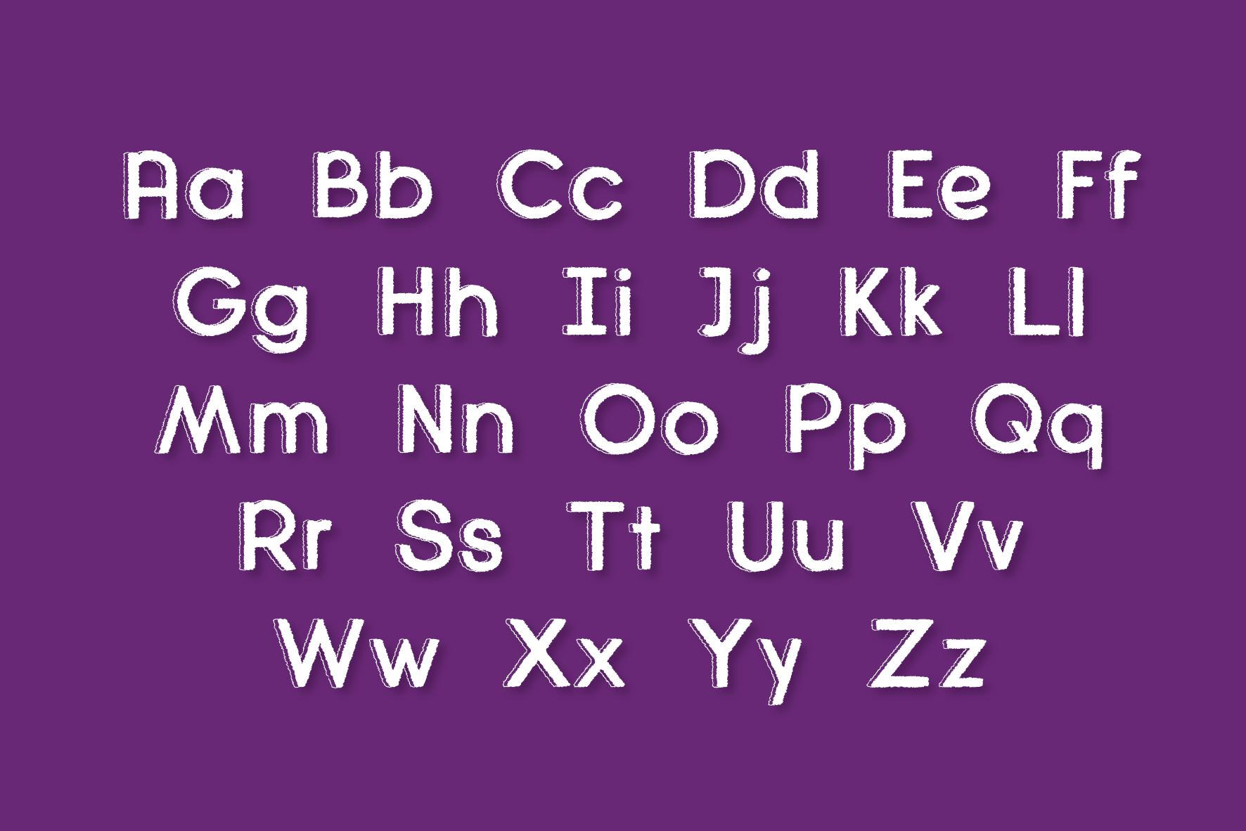 Diamanda Font Family Bundle includes 6 crafting fonts example image 8