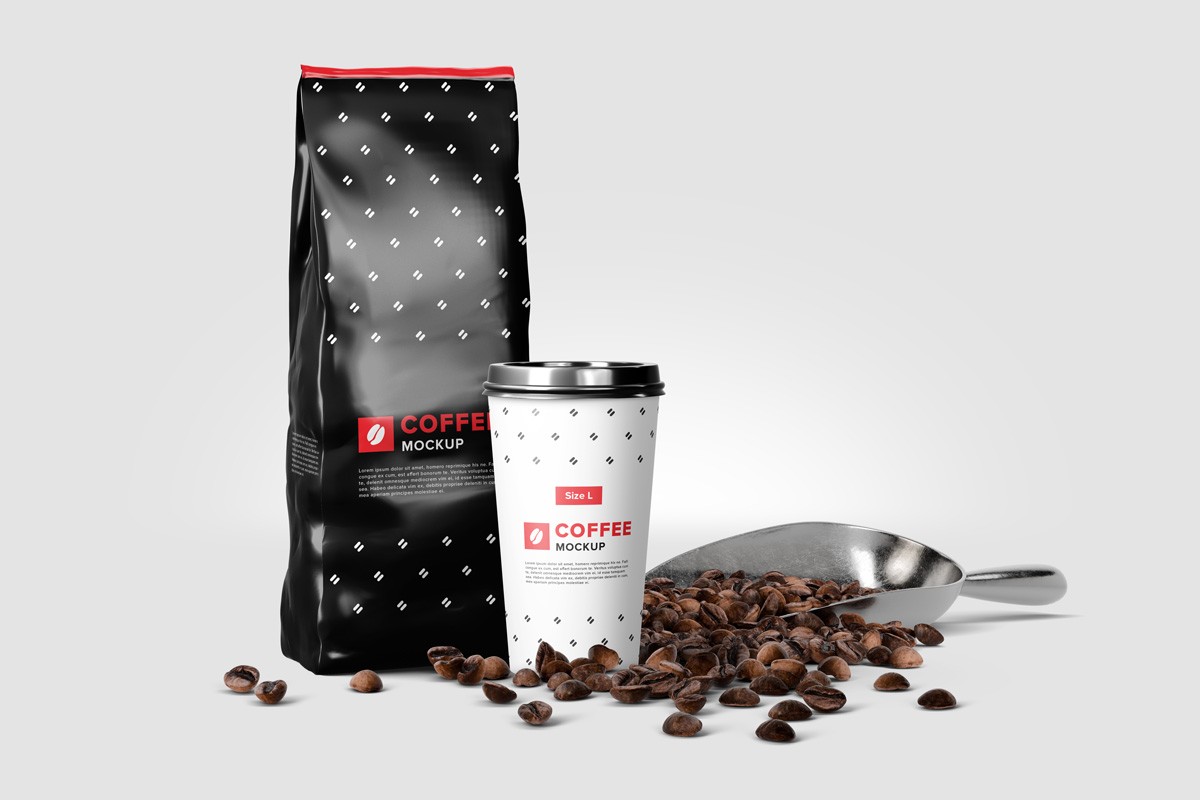 Coffee Mockup Scene Creator example image 8