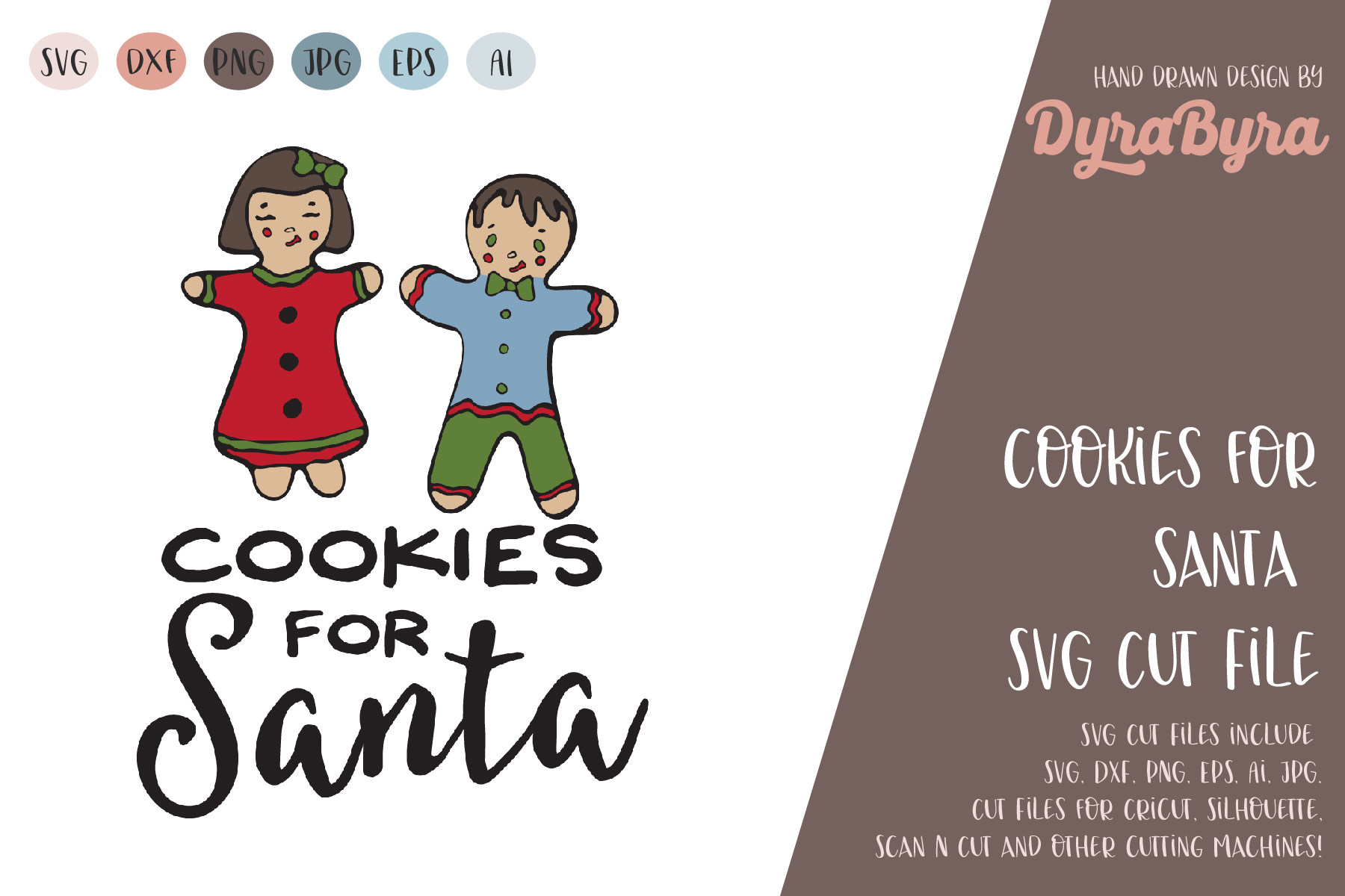 Cookies for Santa SVG / Christmas SVG / Xmas SVG example image 2