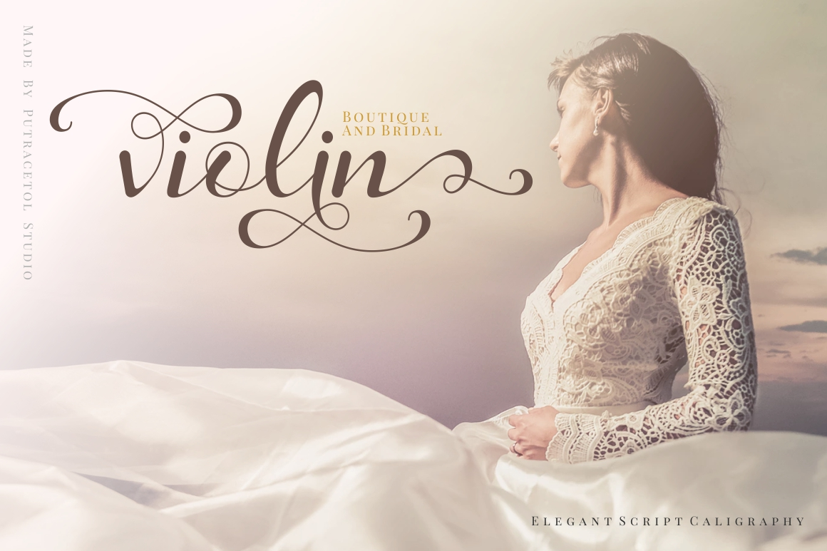 Daysha - Wedding Font example image 2