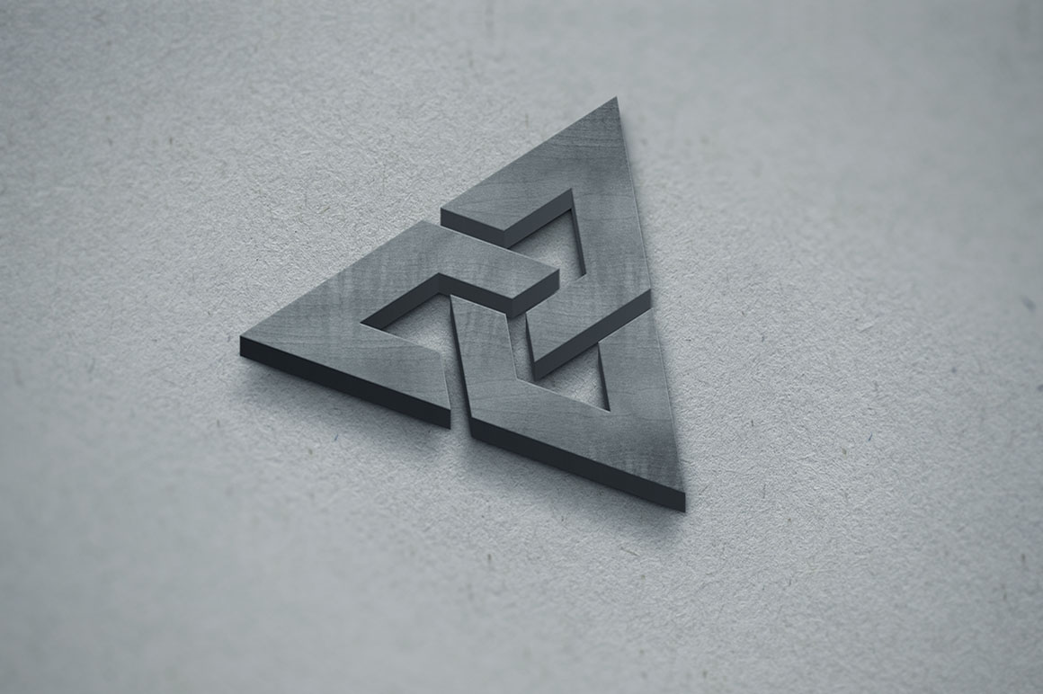3D Logo Mockup example image 3