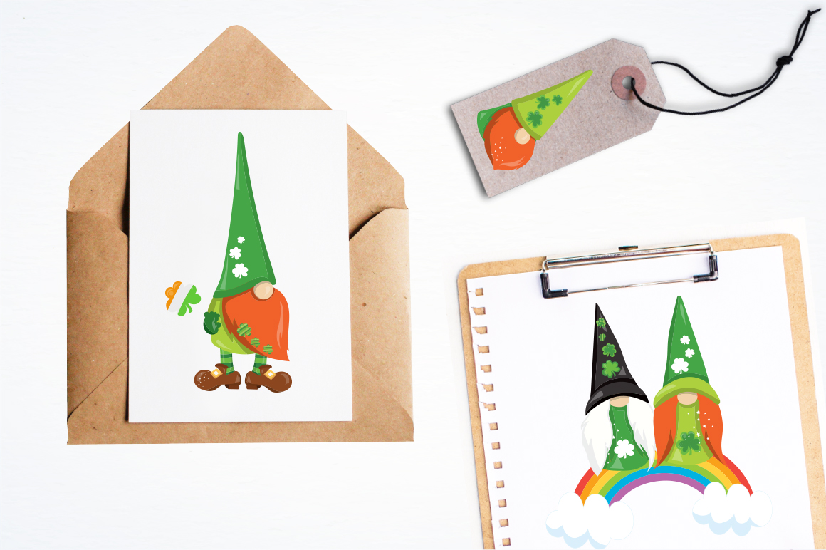 Lucky Gnomes graphic and illustrations example image 2