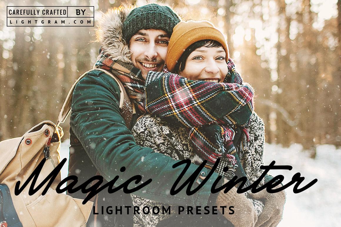 MAGIC WINTER LIGHTROOM PRESETS