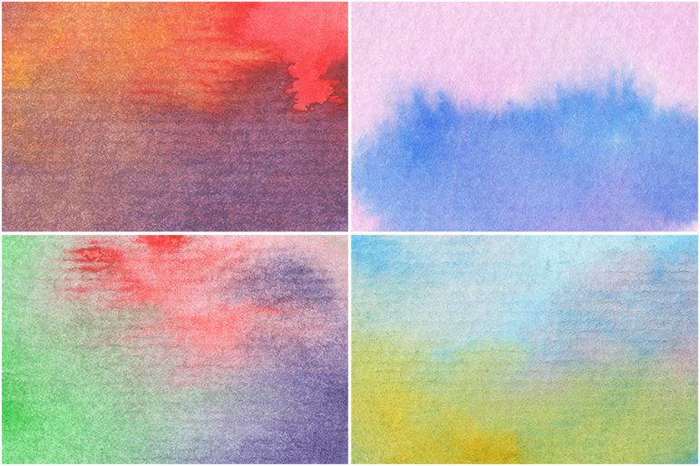 50 Watercolor Backgrounds example image 10
