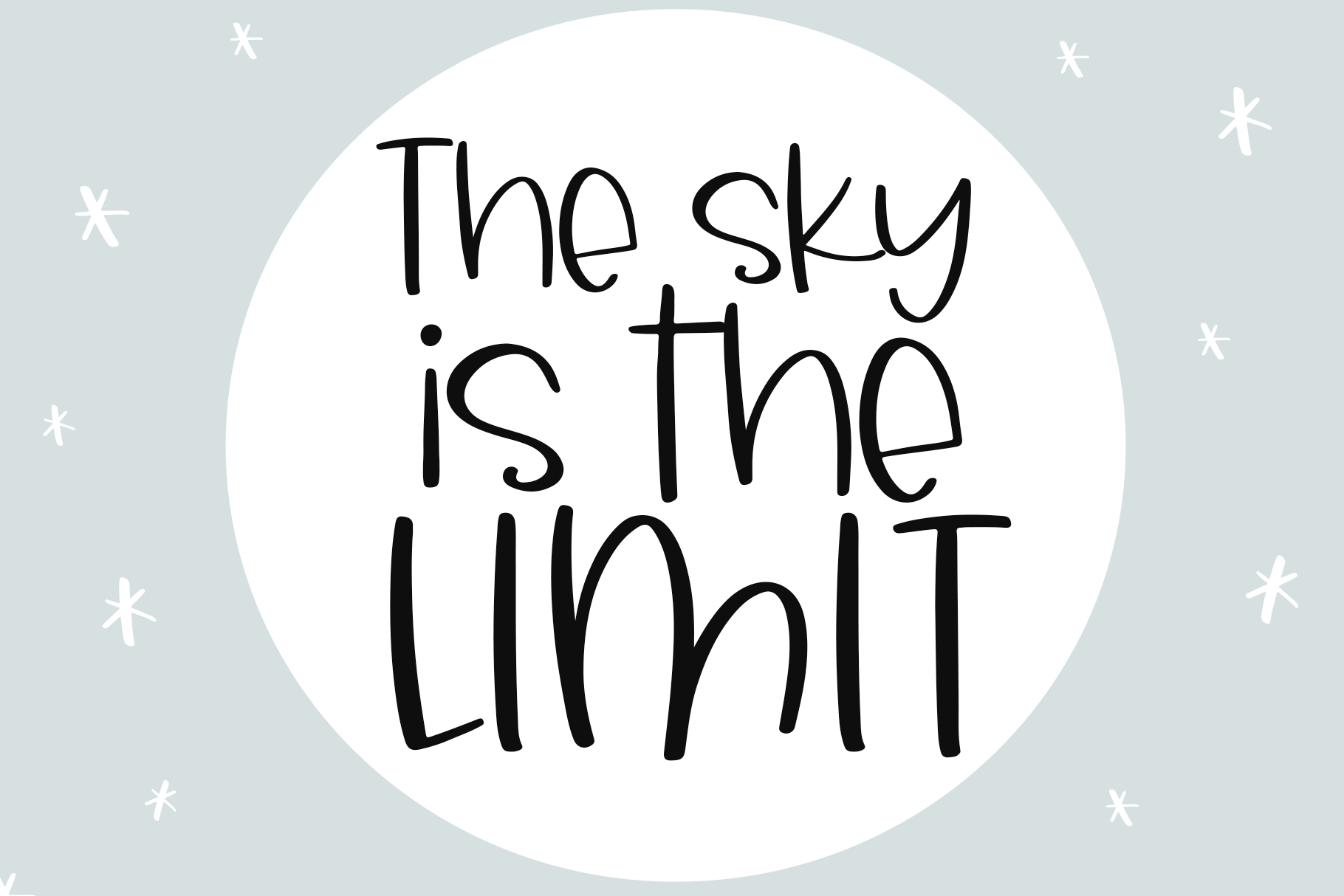 Sky Light - A Quirky Handwritten Font example image 10