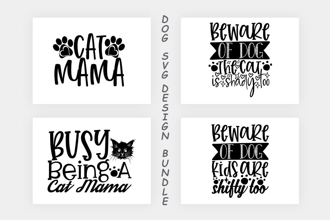 Dog SVG Design Bundle example image 7