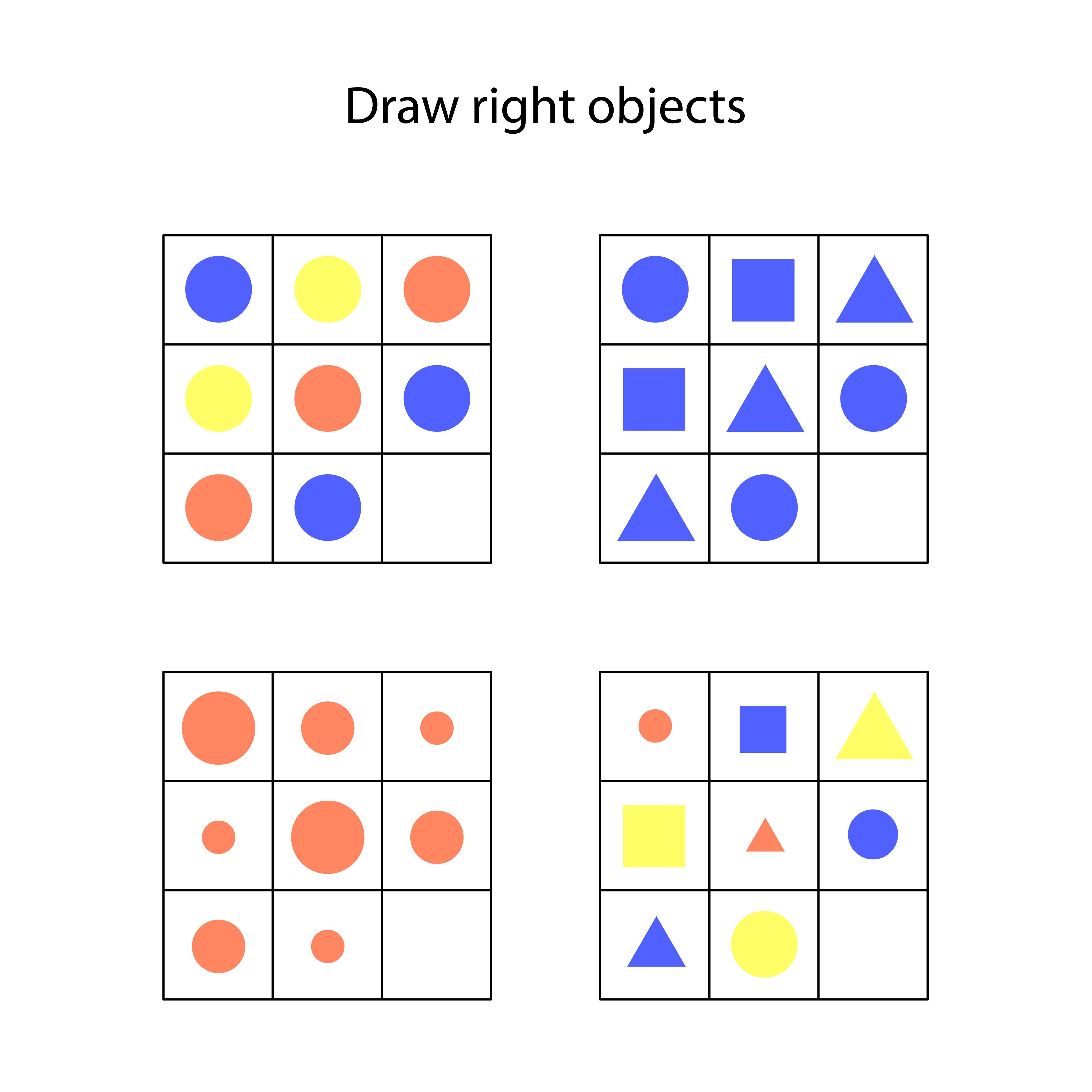 Easy preschool educational brainteasers set example image 10