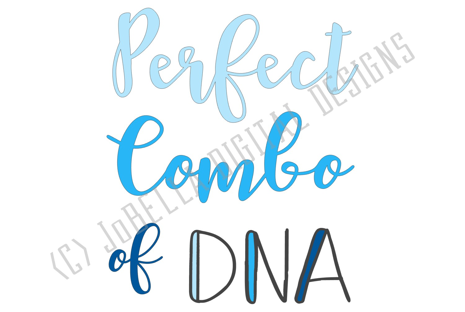 Baby or Kid Shirt SVG - Perfect Combo of DNA Girl and Boy example image 5