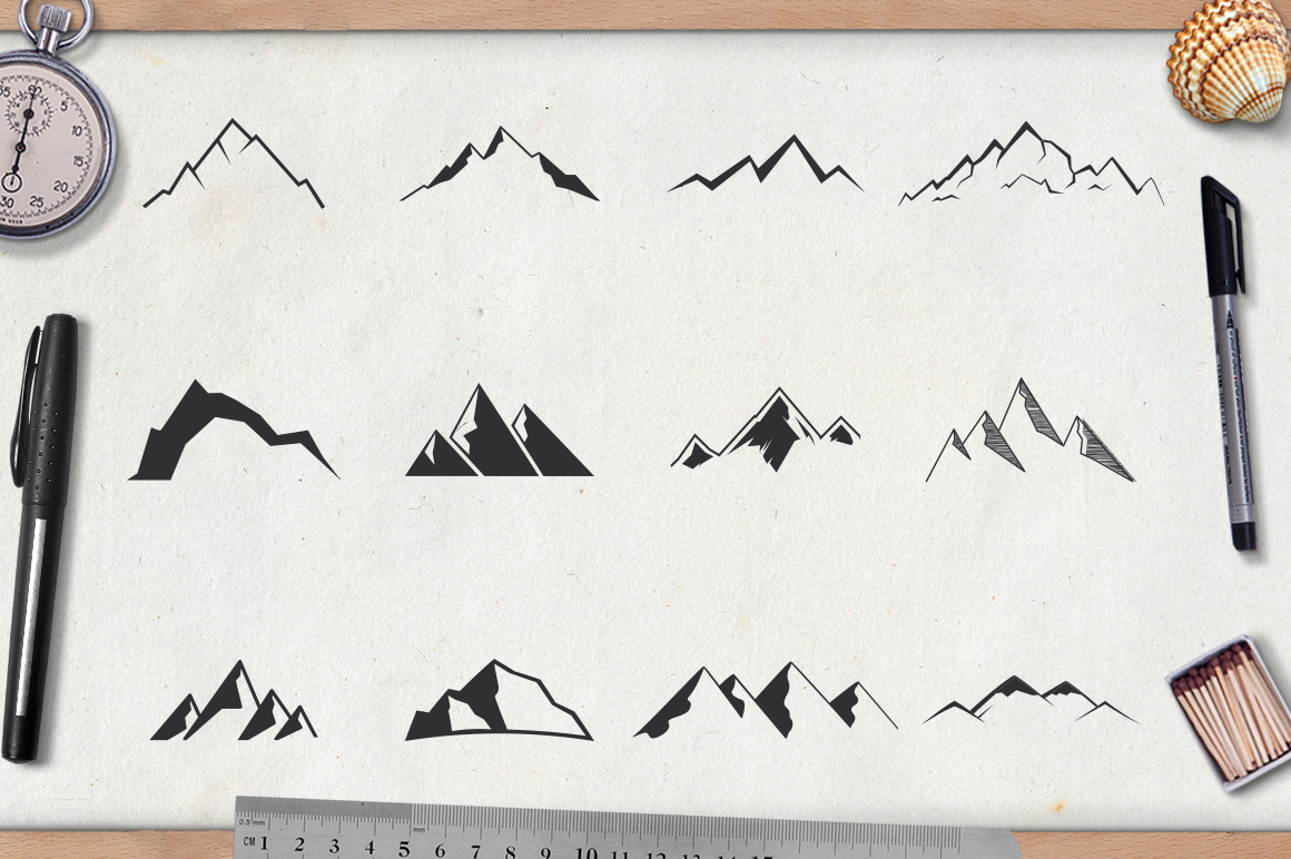 Mountain Shapes Vol.2 example image 2