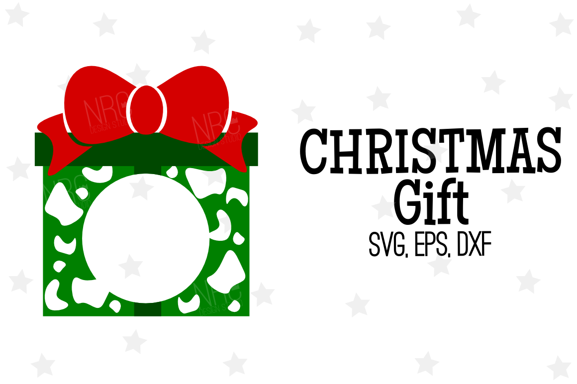 Christmas Gift SVG File example image 1