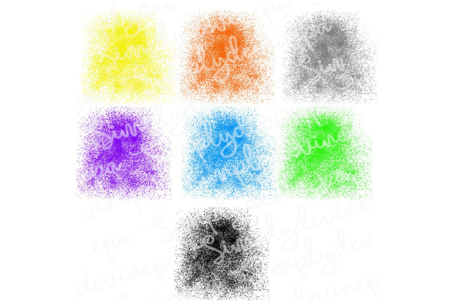 SDPA Background bundle8 - Splatter_ example image 1