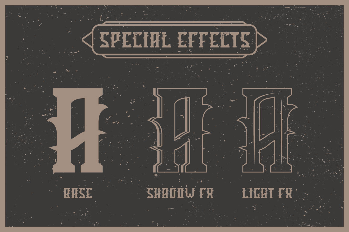 Tequila label font example image 3