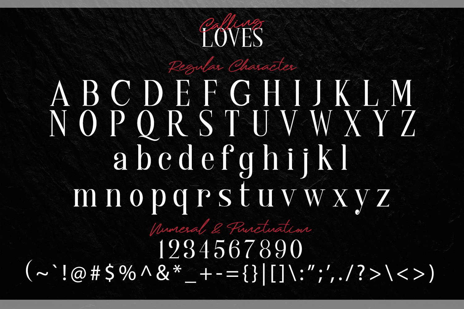 Calling Loves - Font Duo example image 7