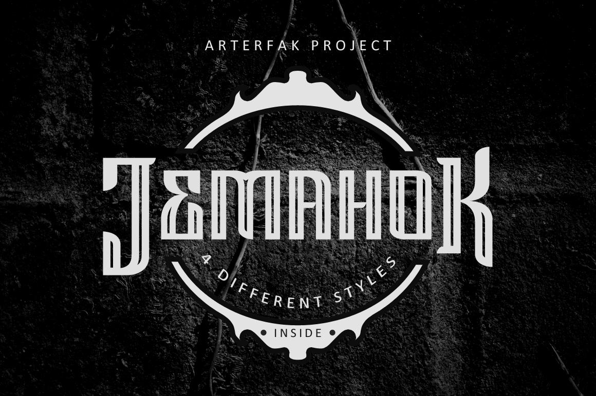 Jemahok Typeface example image 1