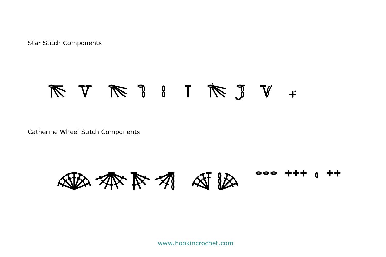 HookinCrochet Symbols 2 Font Software example image 9