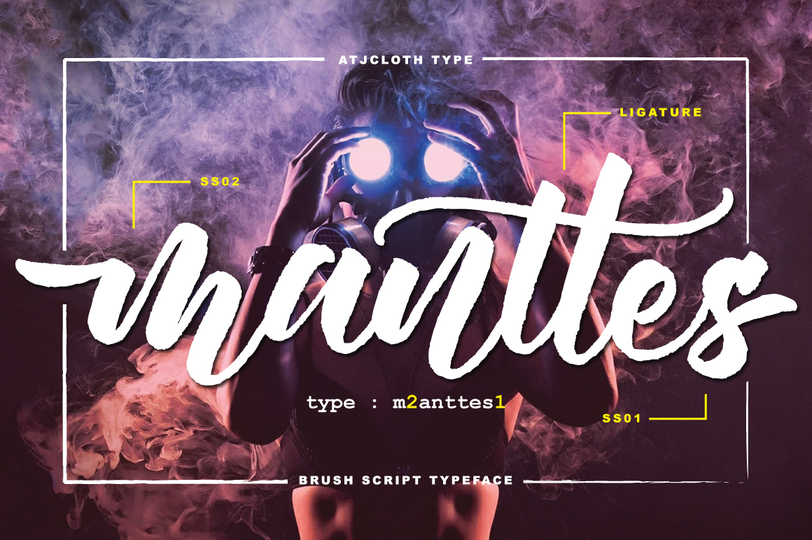 Manttes Typeface example image 1