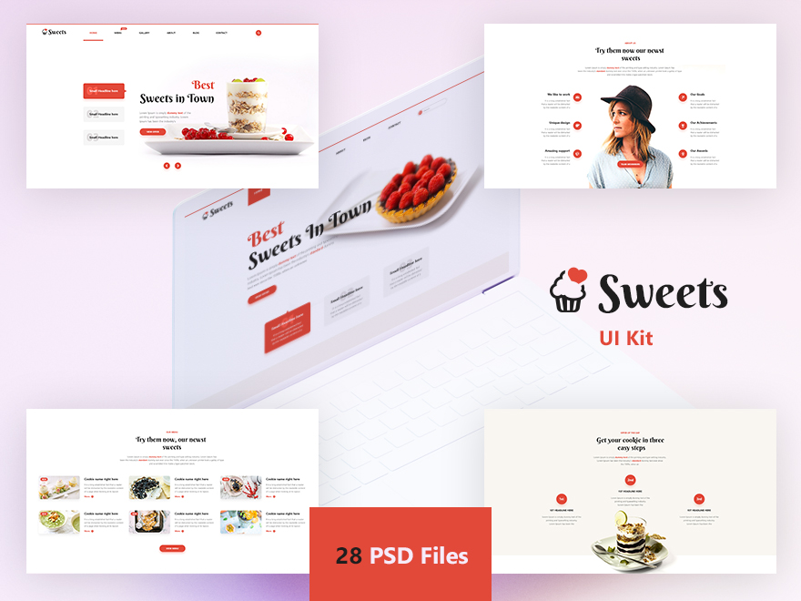 Sweets Ui Kit example image 2